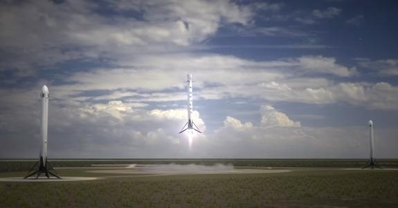 SpaceX's Reusable Mega-Rocket Plan Is Simply Amazing (Video)