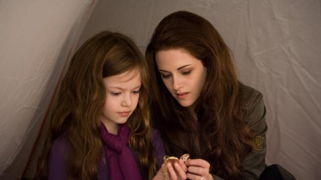 Mackenzie Foy and Kristen Stewart are seen in a scene from 'The Twilight Saga: Breaking Dawn -- Part 2' -- Summit Entertainment