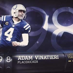 'Top 100 Players of 2015': No. 98 Adam Vinatieri