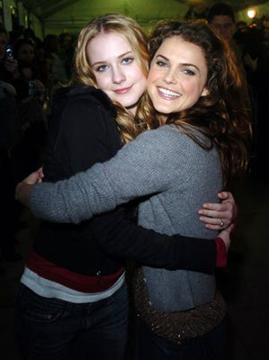 Evan Rachel Wood and Keri Russell The Upside of Anger Premiere - 1/22/2005 Sundance Film Festival