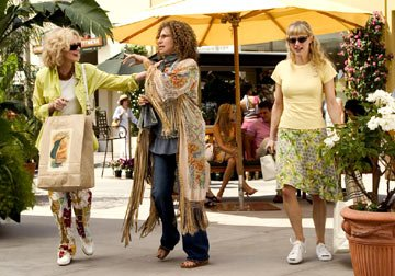 Blythe Danner , Barbra Streisand and Teri Polo in Universal Pictures' Meet the Fockers