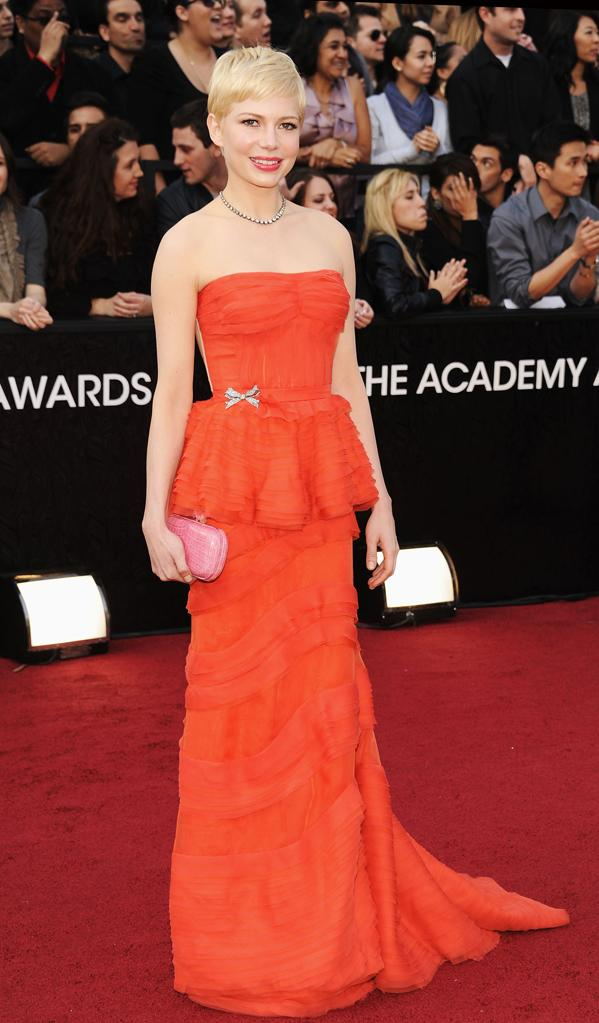 2012 Oscar Arrivals Michelle Williams