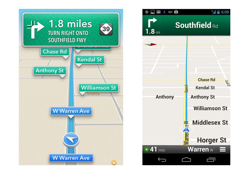 Review: Apple's maps app lets you follow the voice