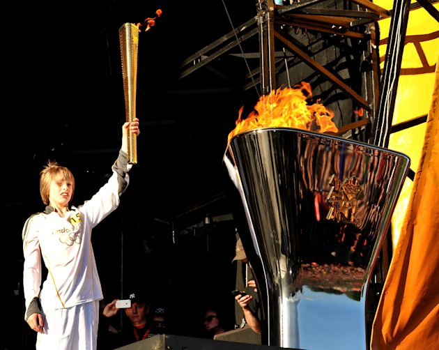 London 2012 Olympic Torch Relay - Leeds Celebration - Presented By Coca Cola