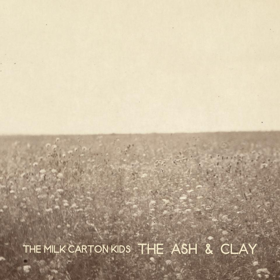 "This CD cover image released by ANTI Records shows ""The Ash & Clay,"" by The Milk Carton Kids. (AP Photo/ANTI Records)"
