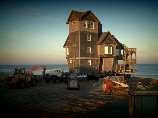 The Nights in Rodanthe beach house