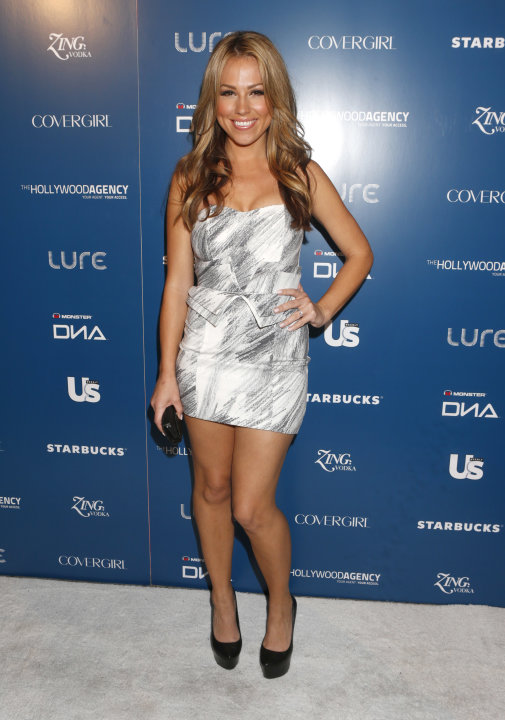 Jessica Hall attends the US Weekly AMA After Party for The Wanted at Lure on Sunday November 19, 2012 in Los Angeles, California.  (Photo by Todd Williamson/Invision/AP Images)