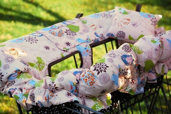 Handmade Shopping Cart Cover