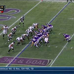 Minnesota Vikings running back Matt Asiata 5-yard touchdown run