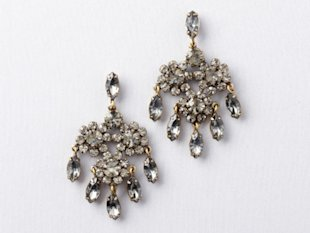 Loft Flower Chandelier Earrings
