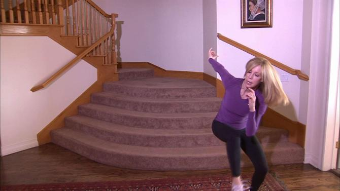 Lori Corbin's 1-minute workout: Heisman move