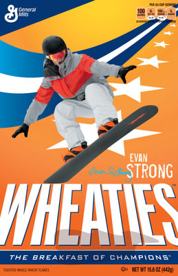 Wheaties Celebrates Snowboard Cross Champion Evan Strong
