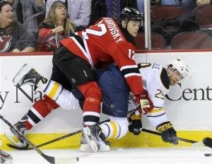 Devils rally for 3-2 win, end 6-game slide
