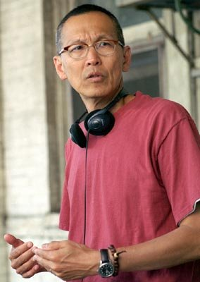 Director Wayne Wang on the set of 20th Century Fox's Because of Winn-Dixie
