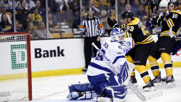 NHL: Tampa Bay Lightning at Boston Bruins