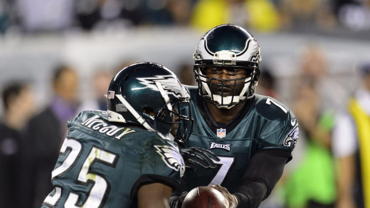 LeSean McCoy: Vick will displace Geno Smith as starter for Jets