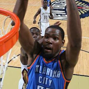 Durant & Westbrook Highlights vs. Pelicans