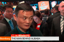 Alibaba co-founder Jack Ma on Bloomberg TV.