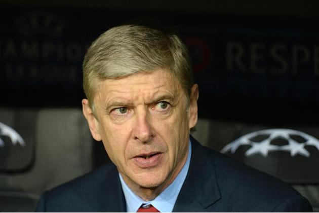 Arsenal's French manager Arsene Wenger is pictured prior to the UEFA Champions League last 16 second leg football match between Bayern Munich and FC Arsenal in Munich, southern Germany, on March 1