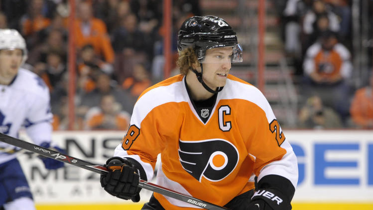 Claude Giroux's the key vs. NY Rangers