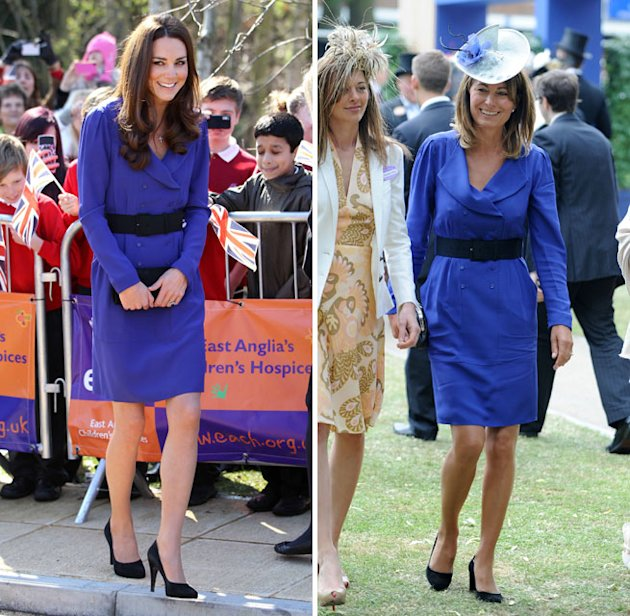Kate Middleton Wears Mother's Blue Reiss Dress at The Treehouse Hospice in Ipswich! Ascot Carole.jpg
