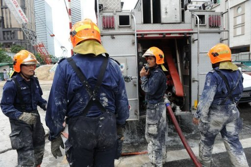 Two workers have been killed in the worst construction accident in Singapore since 2004