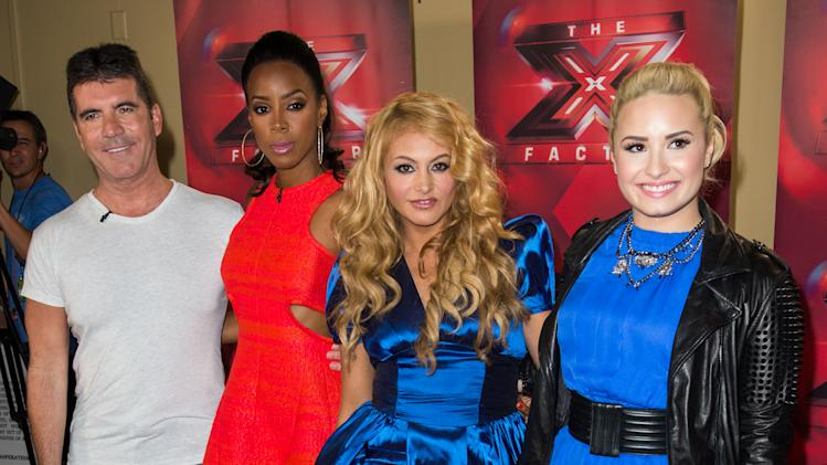 """The X Factor"" Judges Press Conference"