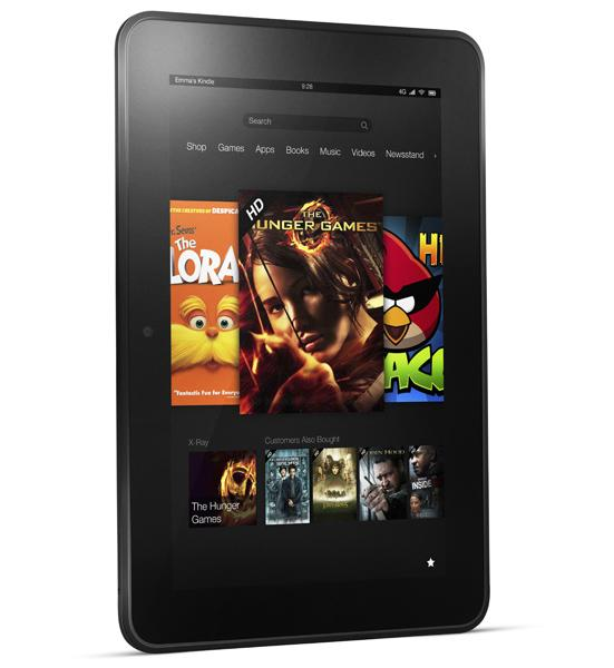 Amazon's 7-inch Kindle Fire HD now available for $199