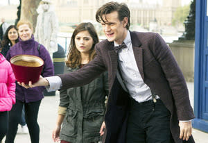 Jenna-Louise Coleman and Matt Smith | Photo Credits: Adrian Rogers/BBC America