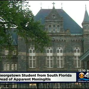 Georgetown Nursing Student From South Florida Dies Of Meningitis