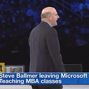 Ballmer Gets Busy, Housing Heats Up & Swift's Sensational Stream