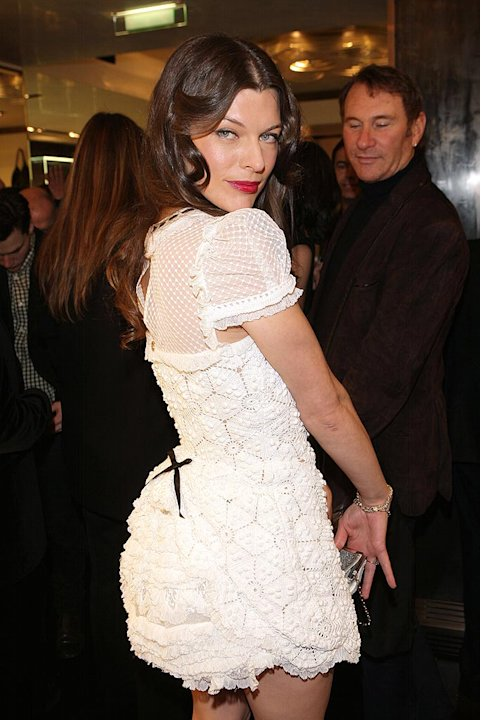 Jovovich Milla Paris Fshion Wk