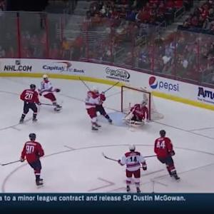 Braden Holtby Save on Nathan Gerbe (08:36/3rd)