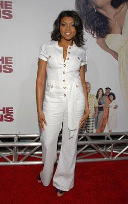 Taraji Henson at the Los Angeles premiere of Lionsgate Films' Tyler Perry's Meet the Browns
