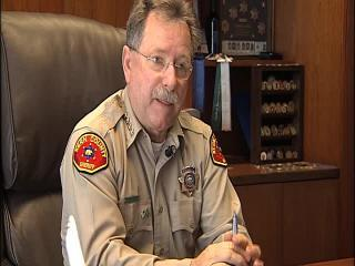 (RAW VIDEO) Kern County Sheriff Donny Youngblood takes on gun control