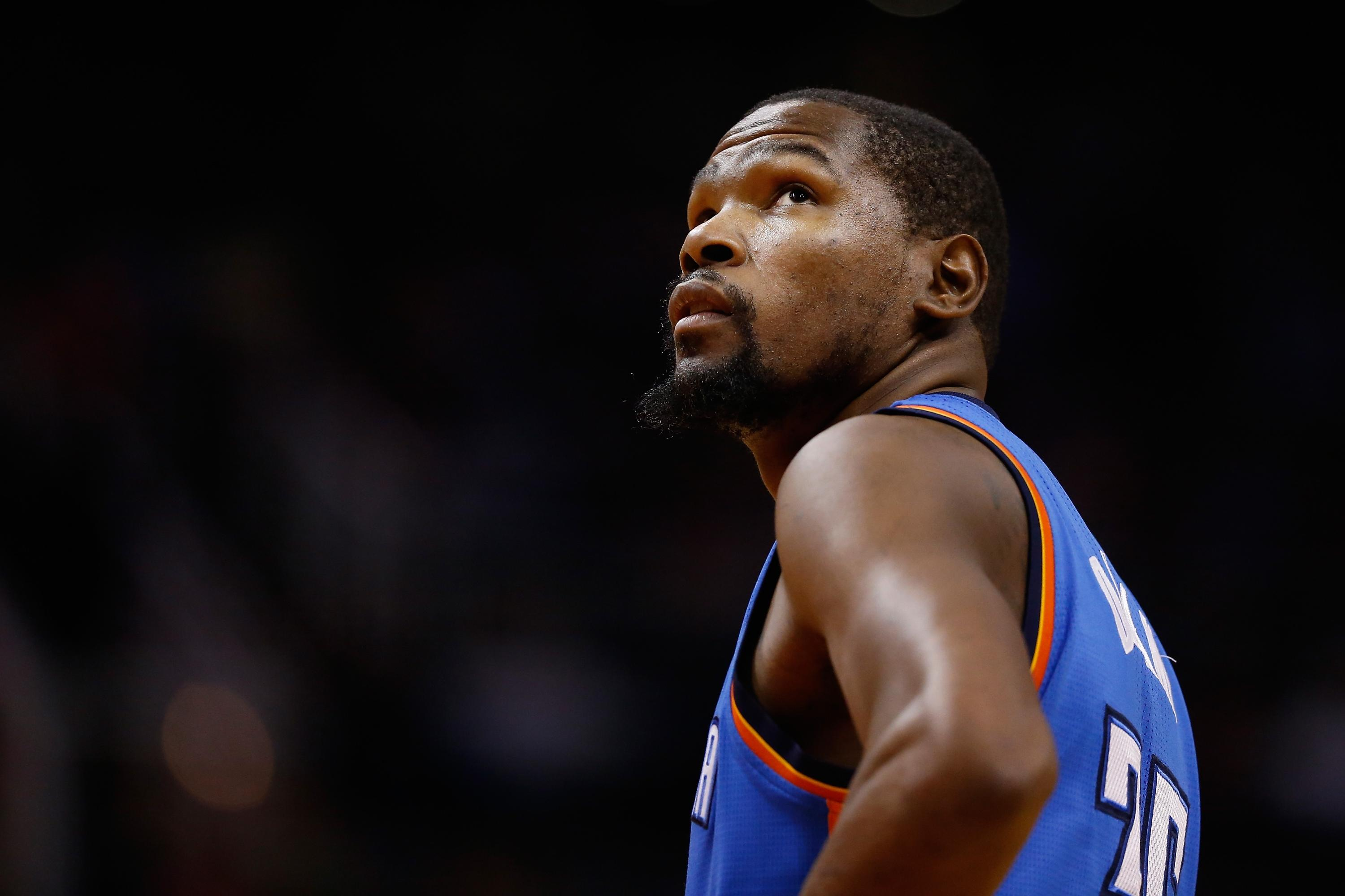 All-Star Kevin Durant not stressing about upcoming free agency