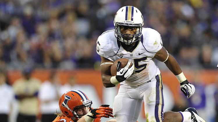 Huskies' unassuming Sankey leads nation in rushing