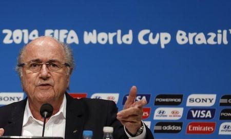 """FIFA chief Blatter """"invigorated"""" after Marrakech meeting"""