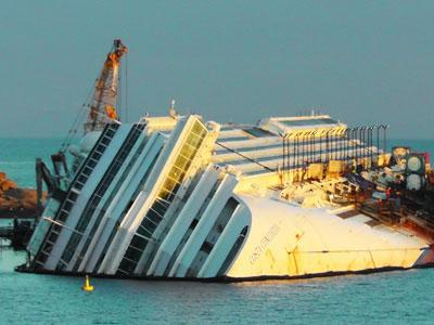 More Time Needed to Remove Concordia Wreck