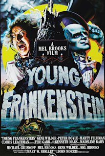 Poster of Young Frankenstein