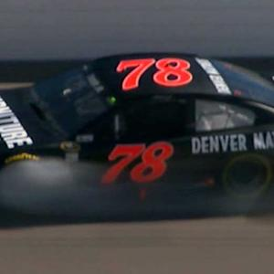 Loose part creates a scare for No. 78 team