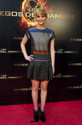 3. Jennifer Lawrence&amp;#39;s Color-Blocking &amp; Booties