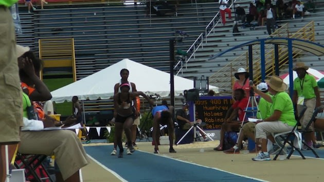 Freshman Courtney Corrin is on her way to becoming the best prep long jumper of all time — New Balance Nationals
