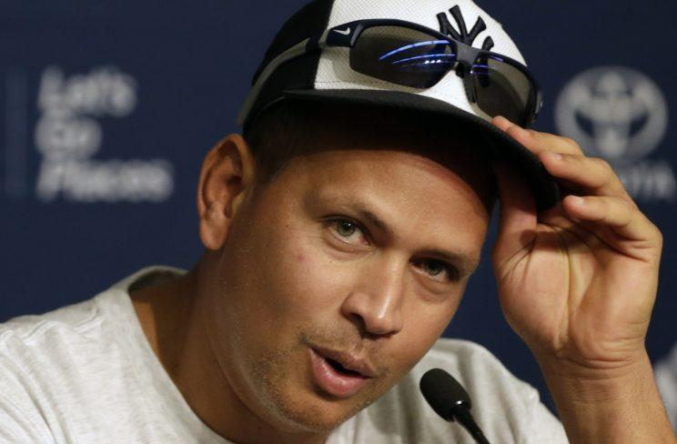 Alex Rodriguez keeps some interesting notes. (AP Photo)