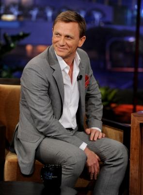 "Daniel Craig appears on ""The Tonight Show with Jay Leno"" at the NBC Studios in Burbank, Calif. on July 20, 2011  -- Getty Premium"