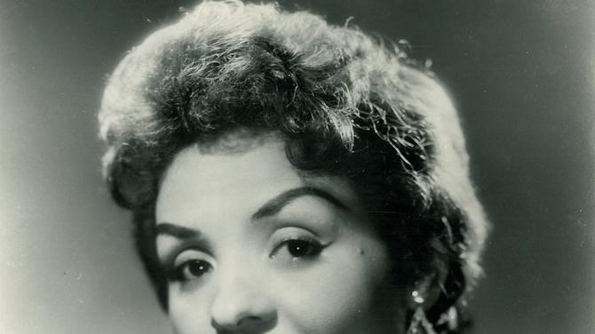 This undated photo provided by Emory University shows a portrait of Ophelia DeVore. As a model and businesswoman, DeVore worked for much of the 20th century to break down stereotypes and empower black women by giving them skills and tools to bolster their confidence and help them succeed. Emory University in Atlanta recently acquired the collected papers of the 91-year-old DeVore. (AP Photo/Ophelia DeVore papers, MARBL, Emory University)