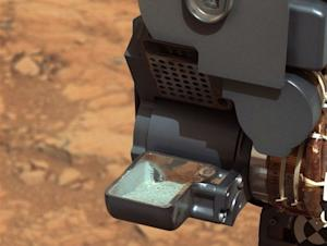 Curiosity Rover to Eat Mars Rock Dust After Drilling Success