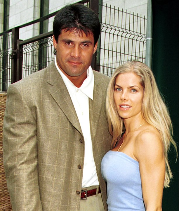Jose Canseco and Jessica  …