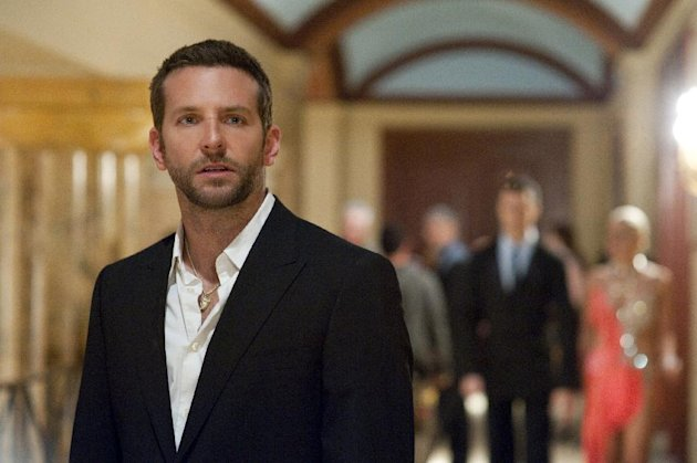 This film image released by The Weinstein Company shows Bradley Cooper in &quot;Silver Linings Playbook.&quot; (AP Photo/The Weinstein Company, JoJo Whilden)