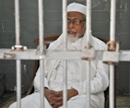 Jailed Islamist cleric Abu Bakar Bashir threatened to wage war if Myanmar continues to harm Muslim Rohingyas, in a letter to the country&#39;s president Thein Sein seen on a website Friday